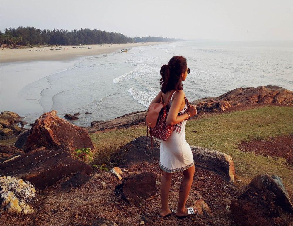 Nirvana Beach, Nirvana Cliff