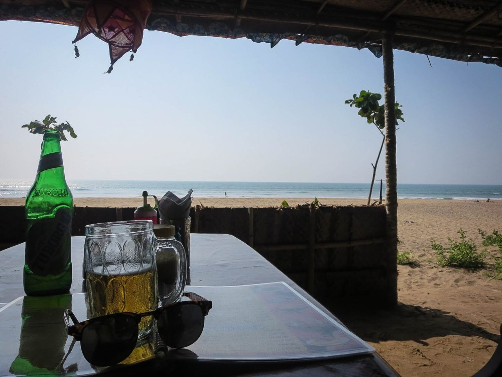 Oasis Cafe at Gokarna Beach