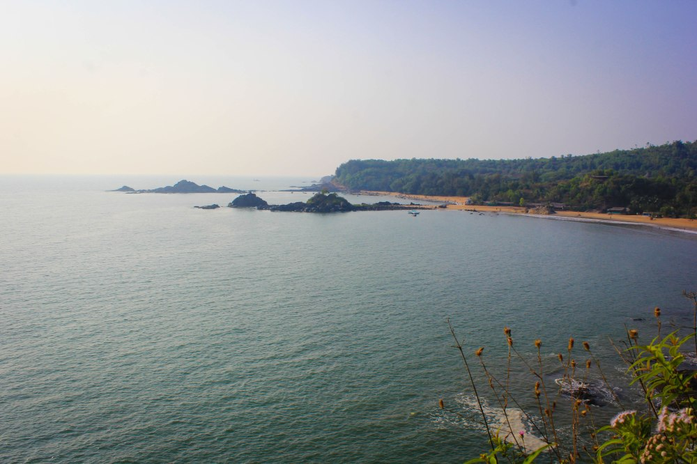 Om Beach,Hill top,View Point